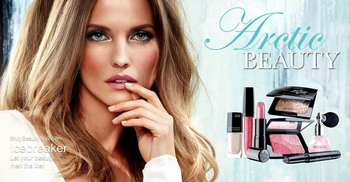 Artdeco Artic Beauty Banner Kauneushoitola BellaHelena 2015