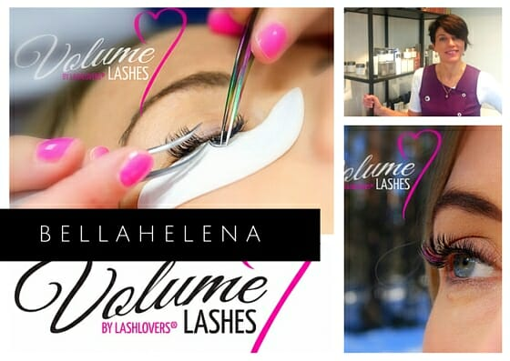 Kauneushoitola BellaHelena LashLovers Volyme PostCard 2016 Oulu Finland