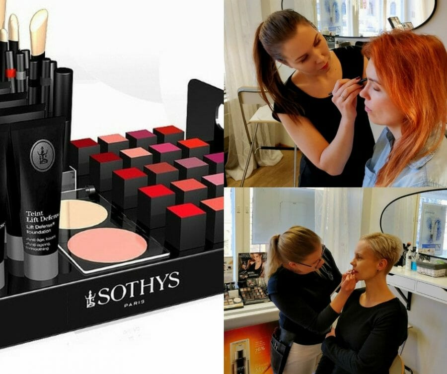 Sothys MakeUp Day BellaHelena Oulu Helena & Paris Oy Helena and Markku Tauriainen Finland 100 Suomi