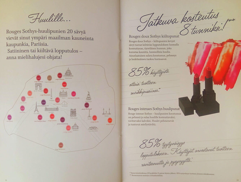 Sothys MakeUp Esite 2018 sivu 07 Kauneushoitola BellaHelena Oulu Helena Paris Oy Helena ja Markku Tauriainen Suomi 100 - Sothys Meikit On Hohdokas Tarina Ja Täydellinen Yhdistelmä