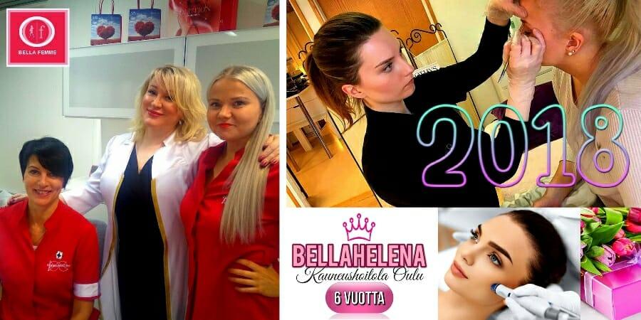 BellaFemme Event Photo 03 Kauneushoitola BellaHelena Oulu 6 Vuotta 02.11.2018 kuvan leveys 900px - Vuodet Vierivät Asiakasilta Perjantaina 02.11. klo 18:00 Alkaen