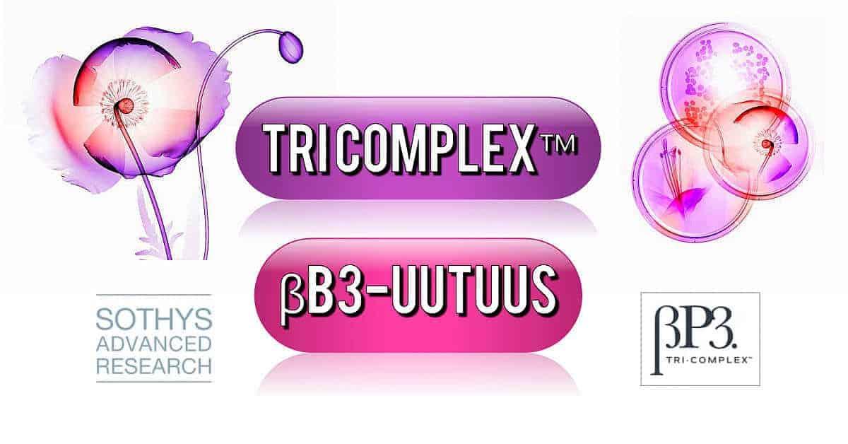 Sothys βB3 TRI Complex Kasvohoidon Teho Näkyy Heti