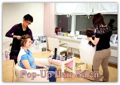 Pop-Up Hair Salon